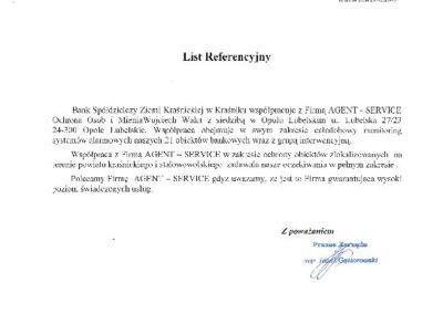 list ref.Bank w Krasniku