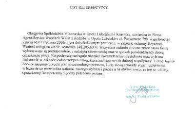list ref.OSM Opole Lub.